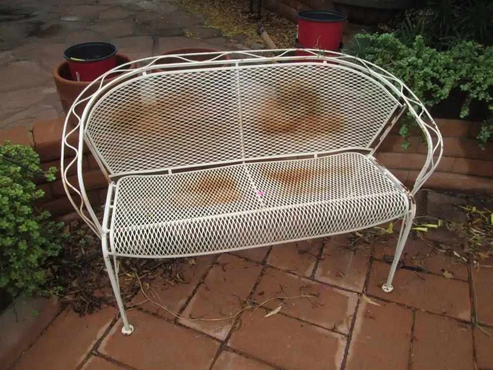 repair wrought iron patio furniture