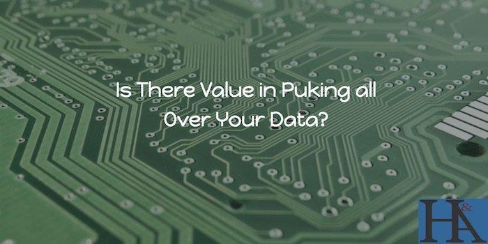 puking data