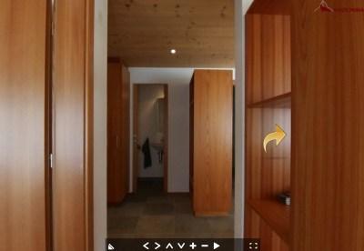 3d Ansicht Korridor Haus Monal