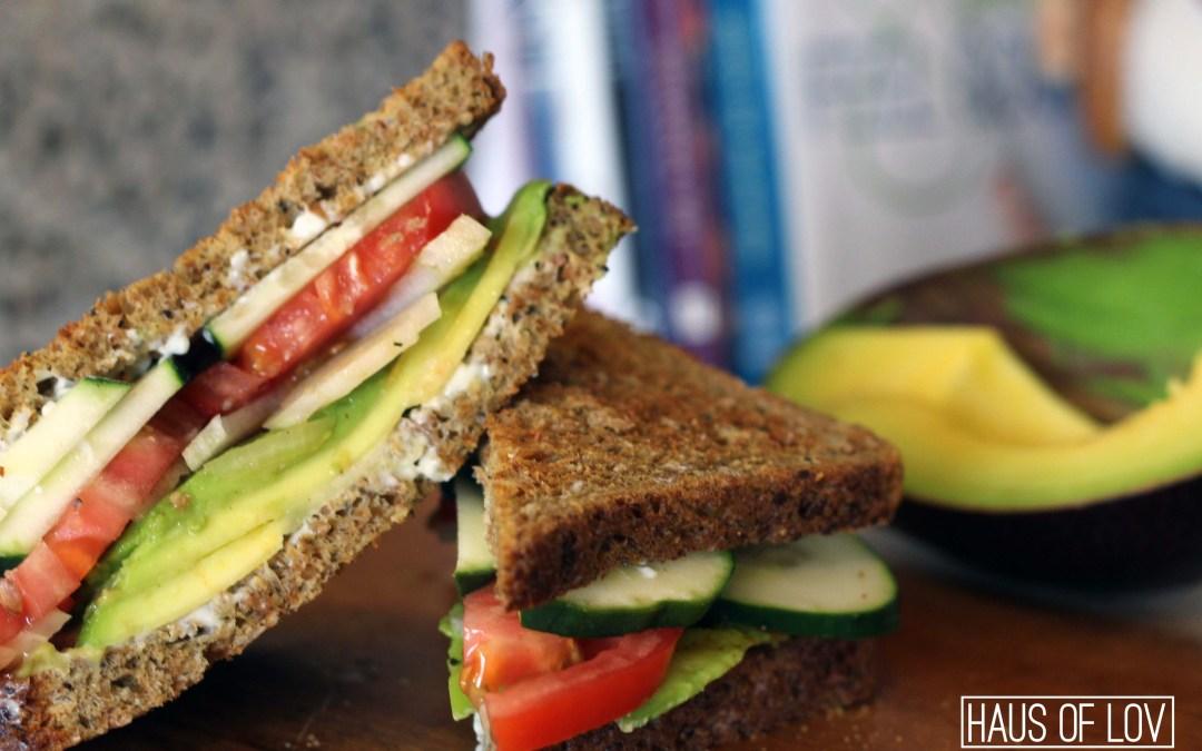 Garden Veggie Sandwich