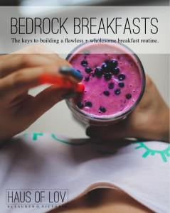 Bedrock Breakfasts