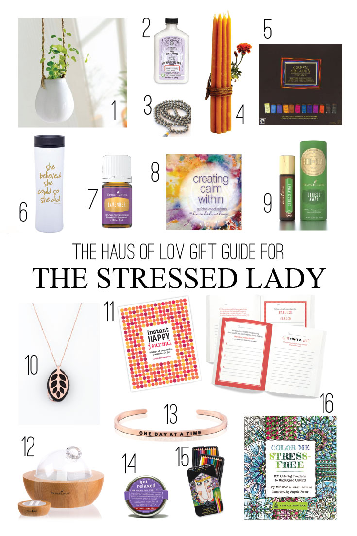 Gift Guide for Stressed Women