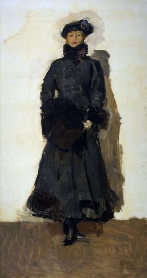 Portret Mata Hari door Isaac Israëls, 1916