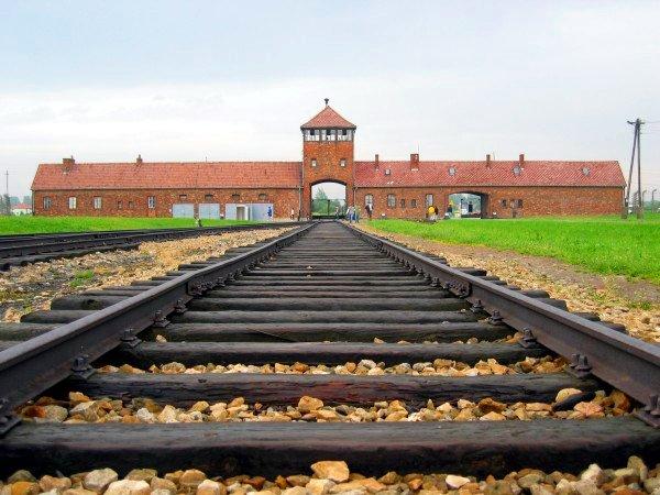 Auschwitz-Birkenau main track