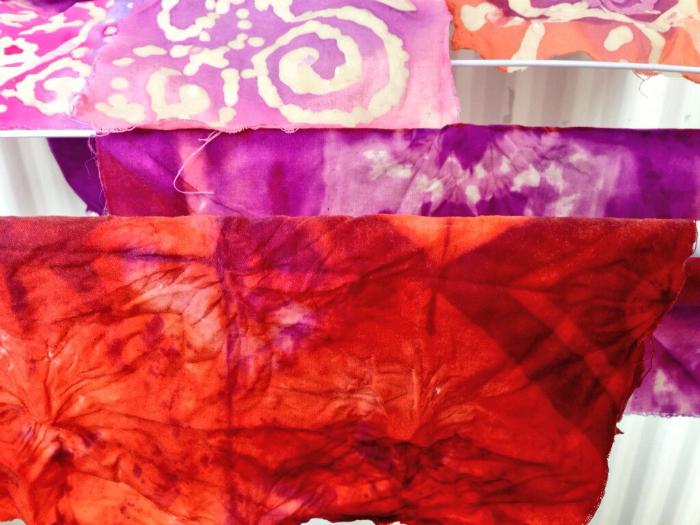 Batik, Ikat, Tie-dye. Intensieve textielcursus, Textile Research Centre, Leiden