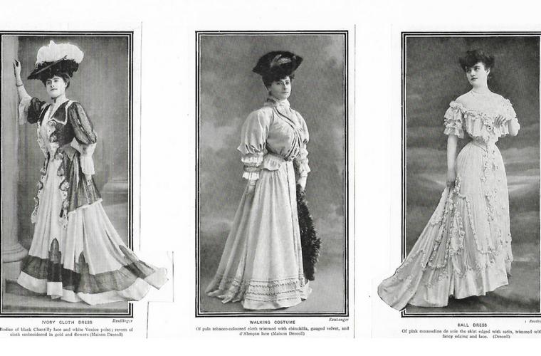 Drecoll fashion 1905
