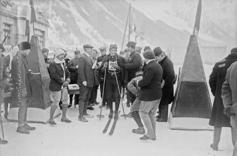 Wintersport Olympische Spelen Chamonix 1924