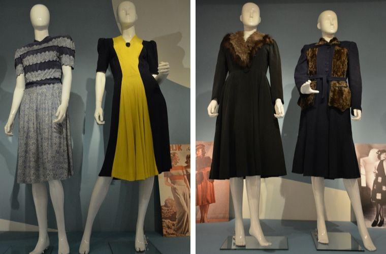 Hirsch & Cie - mode op de bon - Couturage - Verzetsmuseum Amsterdam