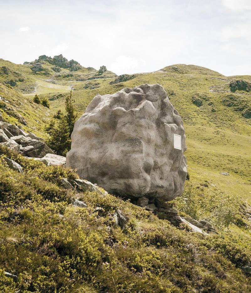 Swiss Rock House