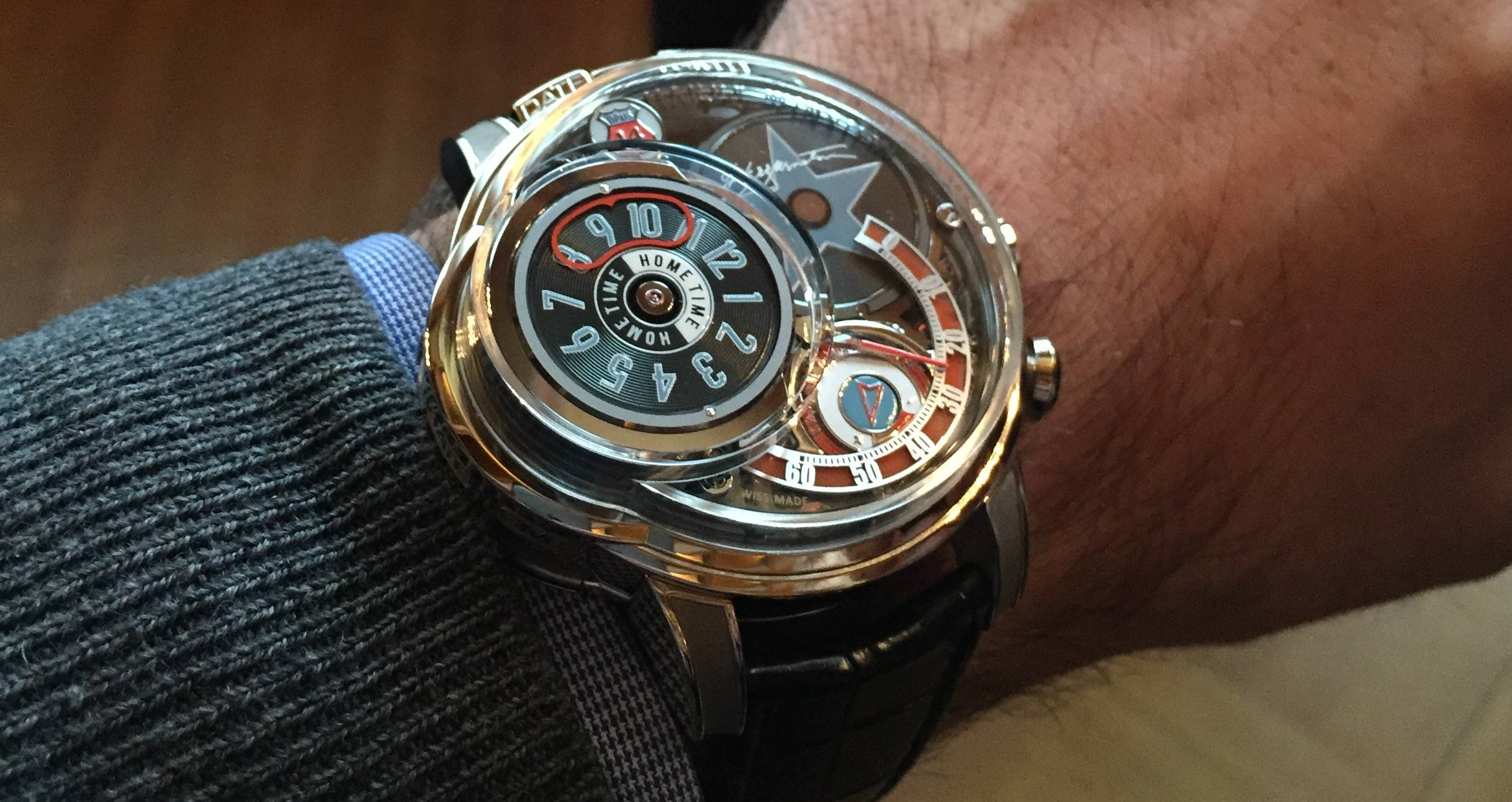 Introducing The Harry Winston Opus 14