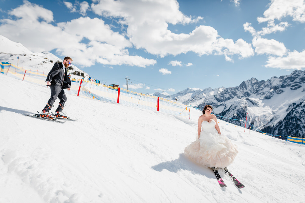 Tips To Hit The Slopes On Your Wedding Day!