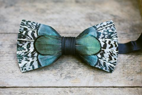 Feather Bow Ties – A Haute Favorite!