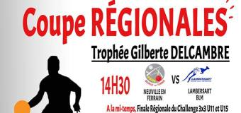 Finales Régionales Leroux, Delcambre et JR. Duhamel