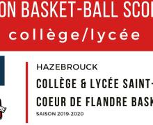 Une Section Basketball Scolaire à Hazebrouck !