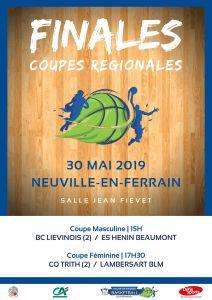Finales Coupes Régionales 2019 @ Neuville-en-Ferrain