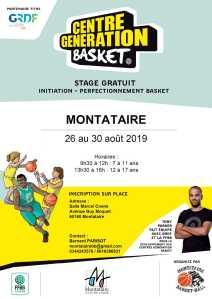 Centre Génération Basket @ Montataire