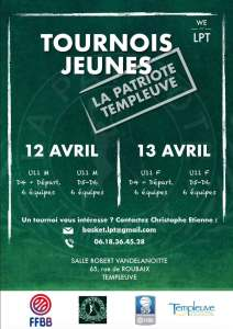 Les Tournois 2020 de La Patriote Templeuve @ Templeuve