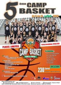 Camp Basket - ESSM @ Le Portel