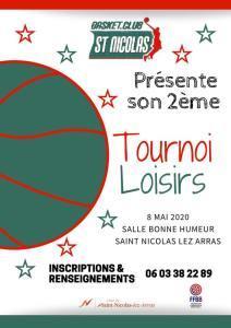 Tournoi Loisirs - BC St Nicolas @ Saint-Nicolas-Lez-Arras