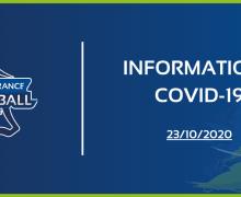 COVID-19 : Tous les championnats régionaux seniors et U20 sont suspendus !