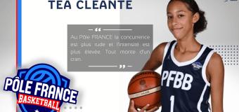 Interview – Téa CLEANTE : «performer au bon moment»