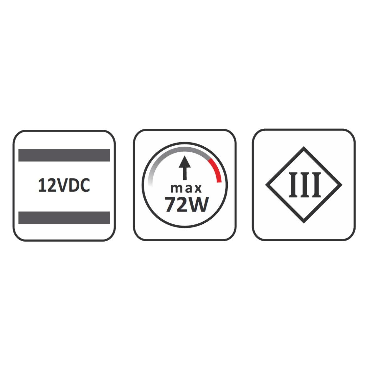 Funk Wireless Steuerung 72w 12v 24v Mini Amp Strip Dimmer