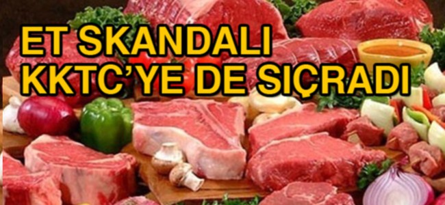 Dana eti yerine bakın ne eti satılıyor!