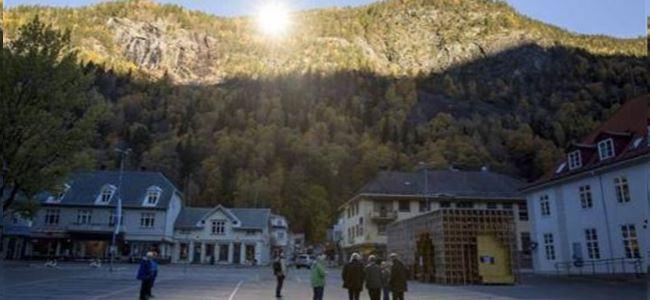 Norveç'teki Karanlık Şehre 'Aynalı' Çözüm