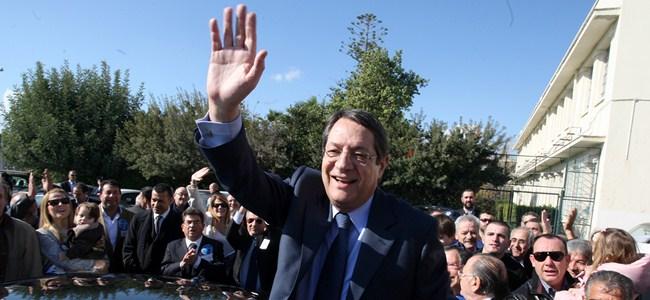 Anastasiadis 7. başkan oldu