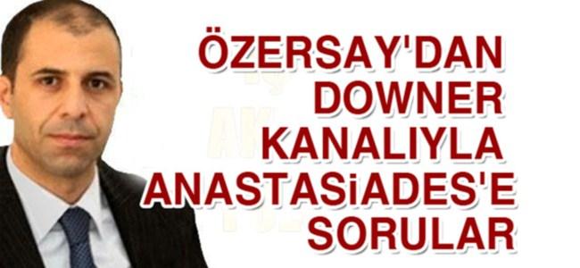 "Özersay: ""Anastasiades"