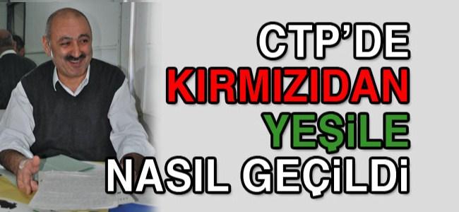 Barış Burcu: CTP'de kırmızıdan yeşile geçiş benim fikrimdi