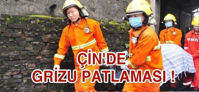 Çin'de grizu patlamasın da 28 Kişi Hayatını Kaybetti !