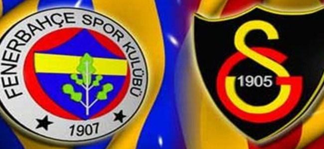 Galatasaray ve Fenerbahçe'nin maç saatleri belli oldu