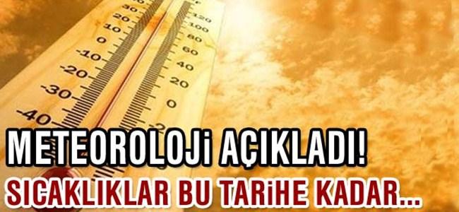 KKTC sıcak havanın etkisi altında kalacak