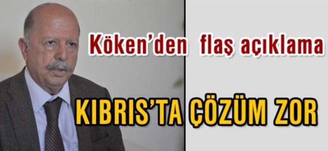 Köken: Yakın tarihte Kıbrıs'ta çözüm zor