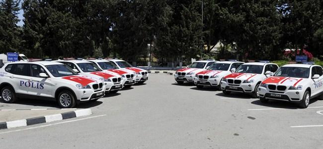 Polisin yeni devriye araçları hazır