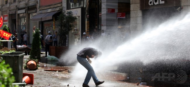 Time'dan çarpıcı Gezi Parkı analizi!