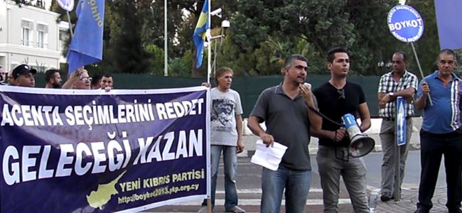 YKP Dereboyu'nda seçimi boykot yürüyüşu yaptı