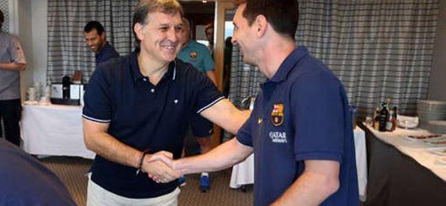 Martino: Messi yedek kalmayı kabul etmeli