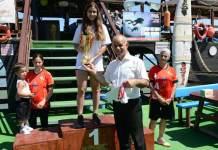 çilek yüzme yarışması