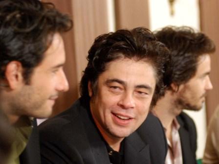 """Benicio del Toro in Havana to present """"Che"""", photo by Caridad"""