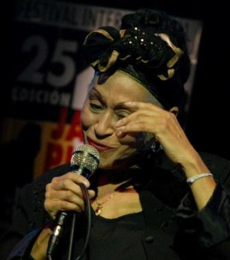 Omara Portuondo at Jazz Plaza 2009