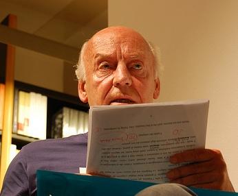 Uruguayan author Eduardo Galeano, photo:  Mariela De Marchi