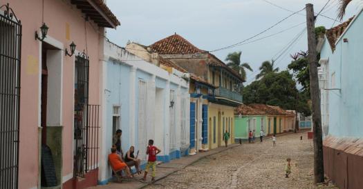 Das koloniale Städtchen Trinidad blieb vom Sturm verschont.