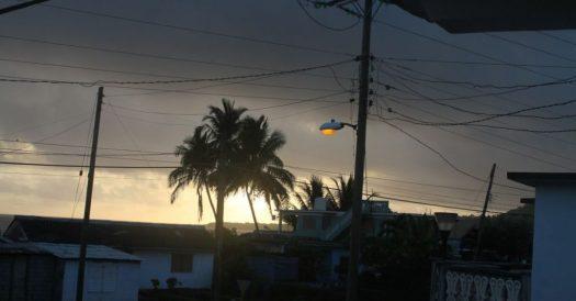 Das oberirdische Leitungsnetz ist bei Sturm besonders anfällig.