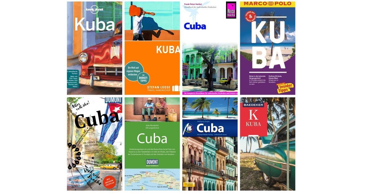 9cc465da9563cb Bester Kuba Reiseführer 2018  Großer Test und Vergleich