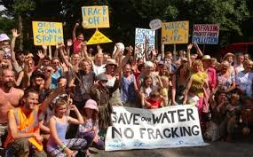 Fracking March