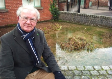 Hampshire Friends of the Earth co-ordinator Ray Cobbett who is concerned about 'unfettered development'