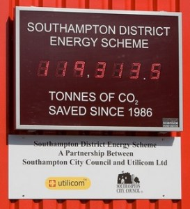 Southampton District Energy Scheme CO2 saved