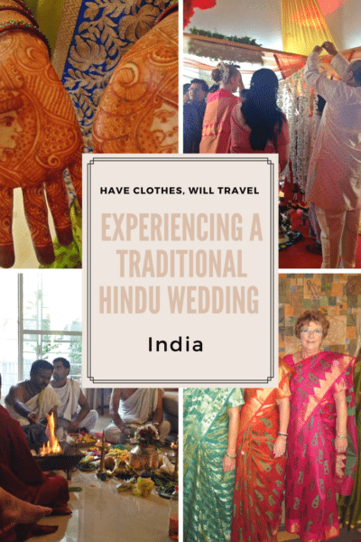 Experiencing a traditional Hindu wedding
